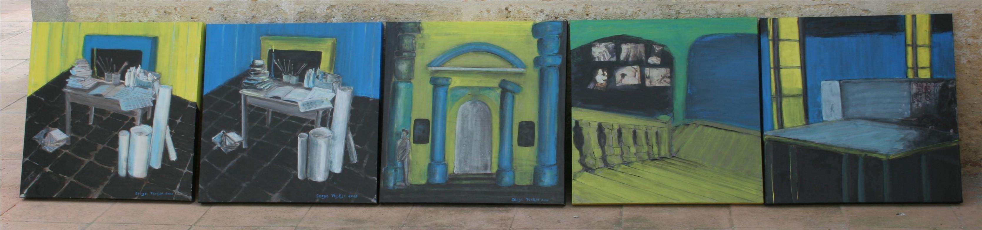 Tableaux serge ten ze archive du blog 4 r sonance for Peinture resinance